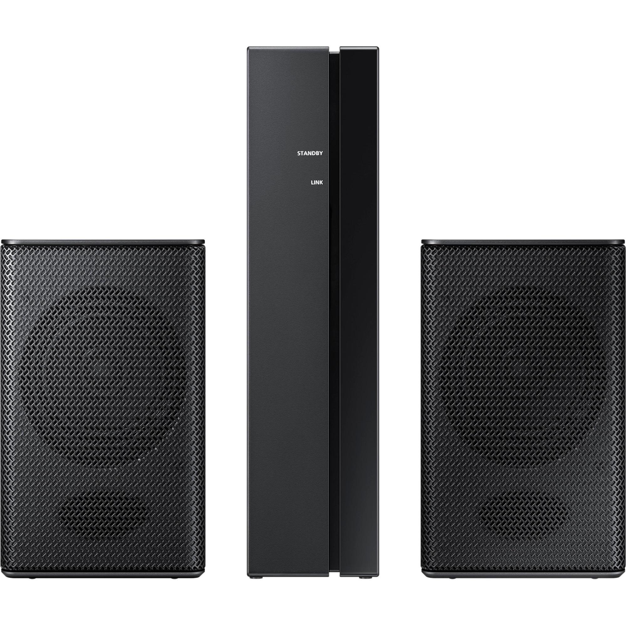 Fotografie Kit wireless pentru soundbar Samsung SWA-8500S/EN, Surround, 80 W, Negru