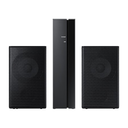 Комплект за soundbar Samsung, SWA-9000S/EN, Wireless, Surround, 120 W, Черен