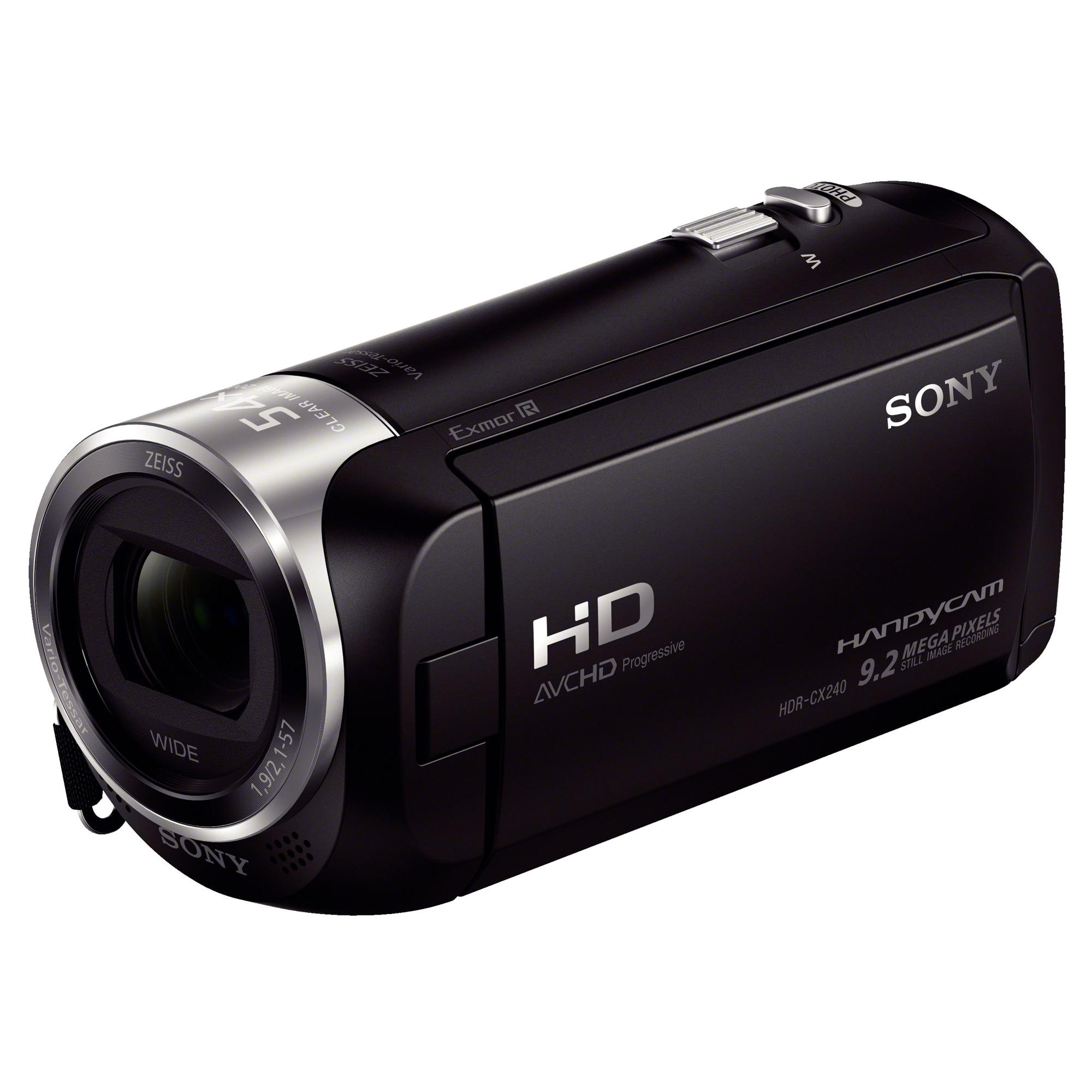 Fotografie Camera video Sony Handycam® HDR-CX240E, Full HD, Negru