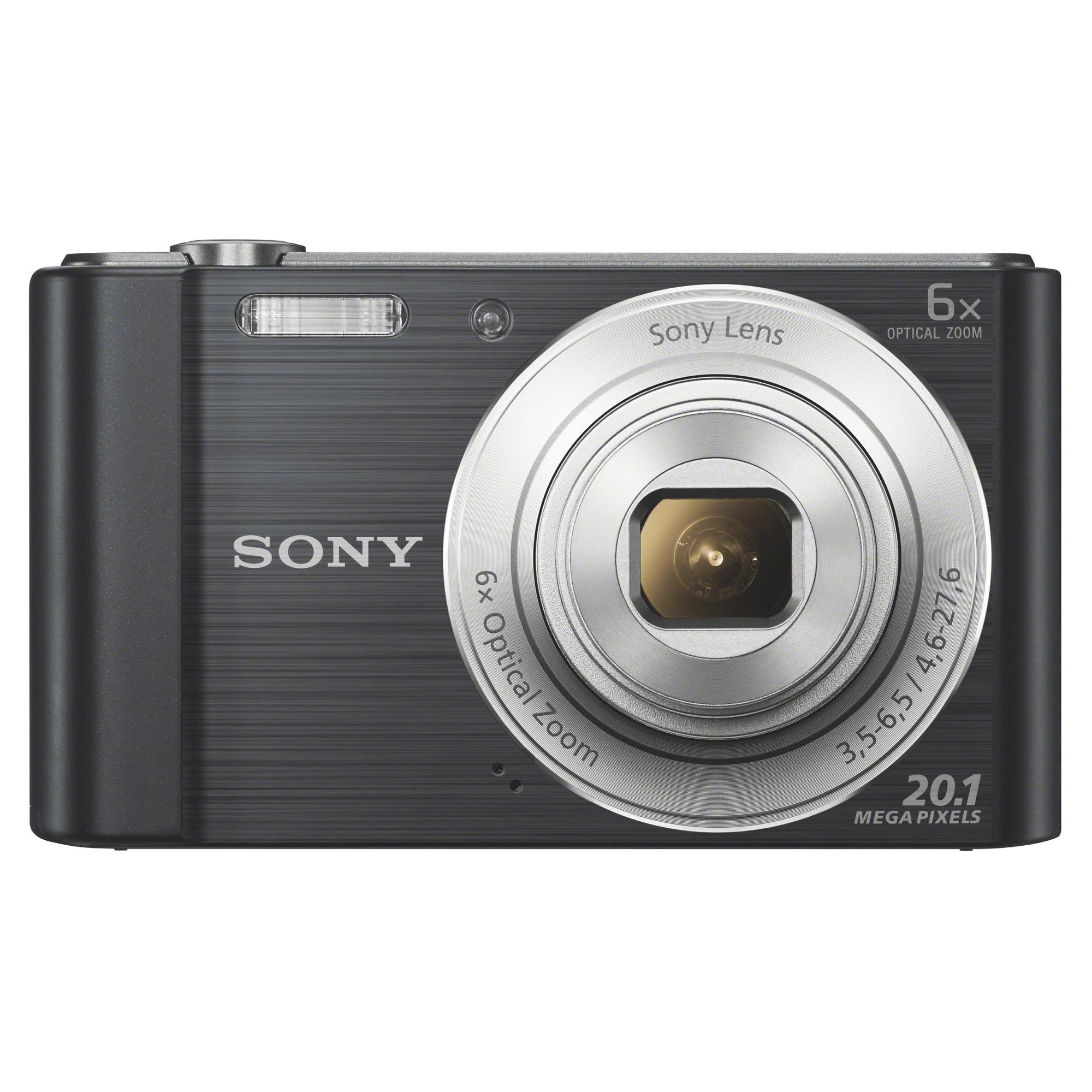Fotografie Aparat foto digital Sony Cyber-Shot DSC-W810, 20MP, Black