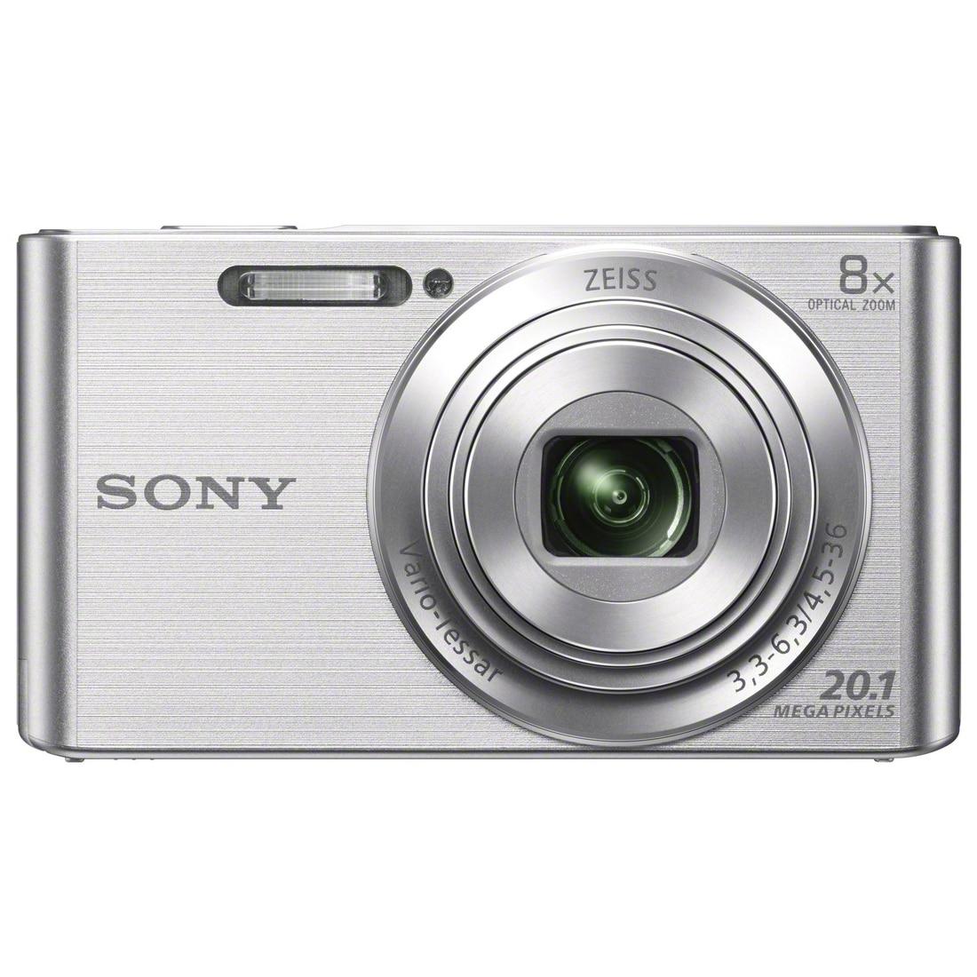Fotografie Aparat foto digital Sony Cyber-Shot DSC-W830, 20MP, Silver