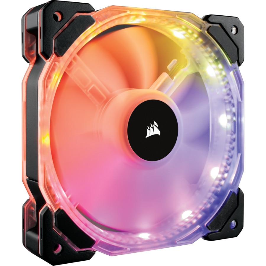 Fotografie Ventilator Corsair HD140, 14mm, RGB LED High Performance