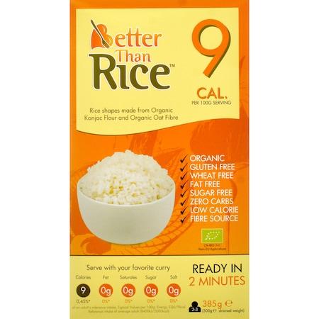 Orez din konjac bio 385g Better than Foods