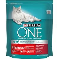 Суха храна за котки Purina One, Sterilcat, Телешко, 800 гр