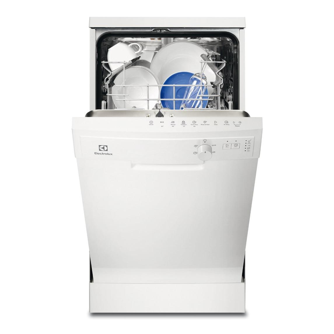 Fotografie Masina de spalat vase Electrolux ESF4202LOW, 9 seturi, 5 programe, Clasa A+, 45 cm, LED, Alb