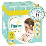 Пелени Pampers Premium Care XXL Box 2 Mini, 4-8 кг, 240 броя