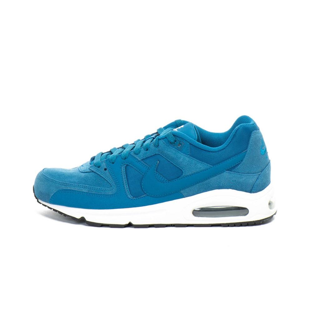 Haz un esfuerzo tribu Arena  Nike, Pantofi sport cu insertii de piele intoarsa Air Max Command Premium,  Albastru, 10.5 - eMAG.ro