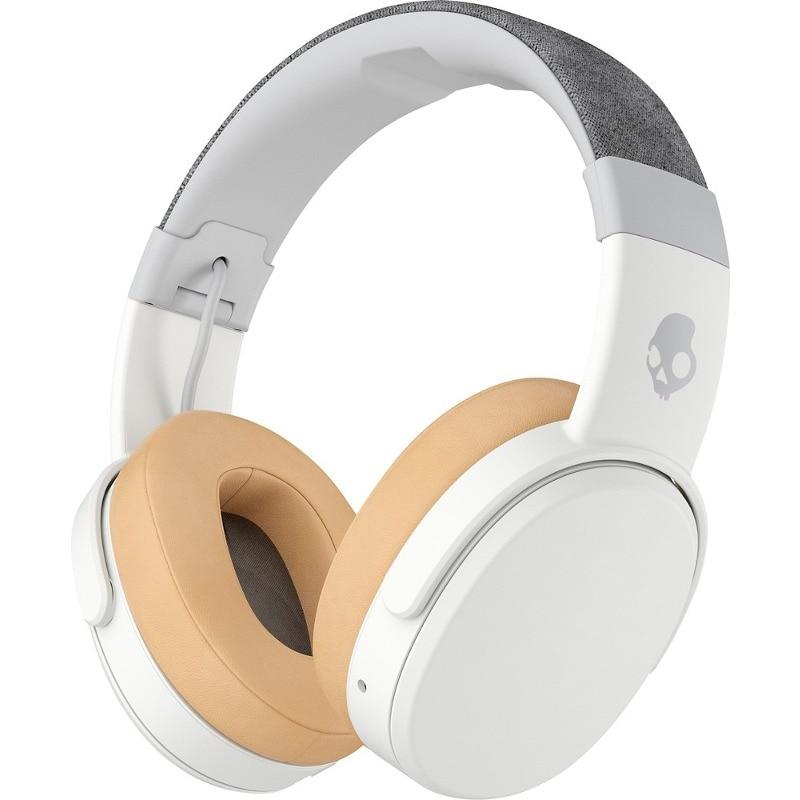 Fotografie Casti Audio Over the Ear Pliabile Skullcandy Crusher, Wireless, Bluetooth, Microfon, Autonomie 40 ore, Gray-Tan