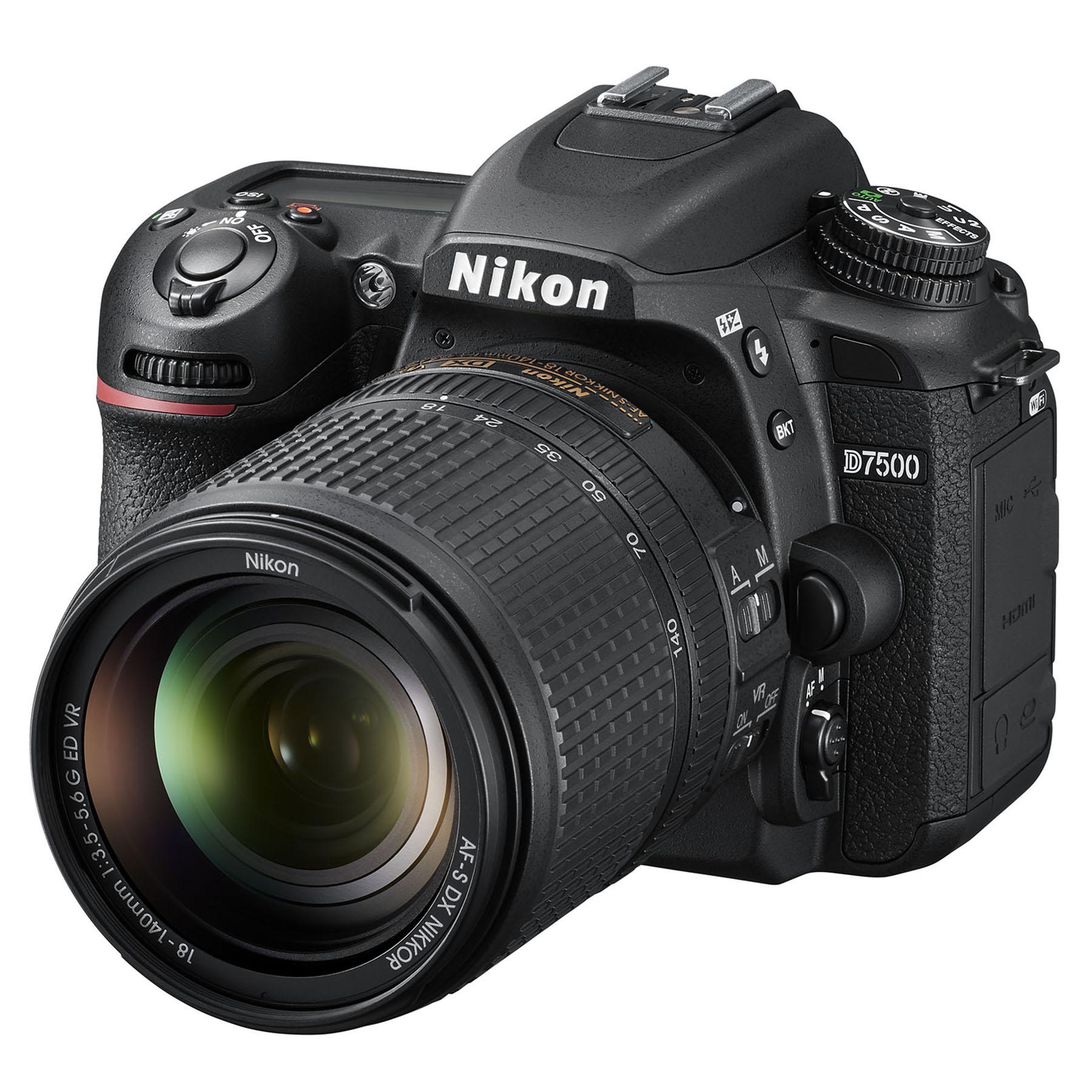 Fotografie Aparat Foto DSLR Nikon D7500, 20.9 MP + Obiectiv 18–140mm VR