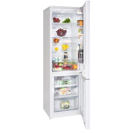 Combina frigorifica Arctic AK60400NF-RO+, No Frost, 356 l, H 201, Clasa A+, Alb