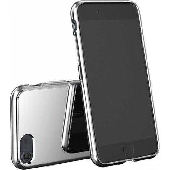Fotografie Husa de protectie Tellur Premium Mirror Shield pentru iPhone 8 / iPhone 7, Argintiu