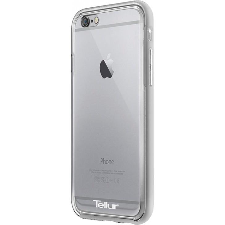 Fotografie Husa de protectie Tellur Premium Protector Fusion pentru iPhone 6S, Argintiu