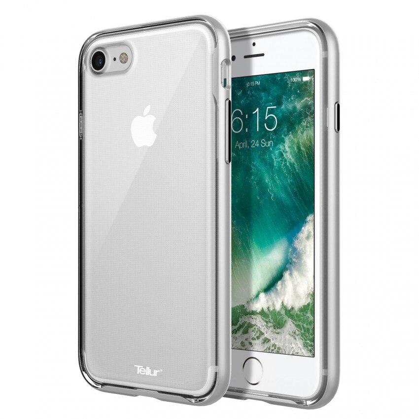 Fotografie Husa de protectie Tellur Premium Protector Fusion pentru iPhone 7 Plus, Argintiu