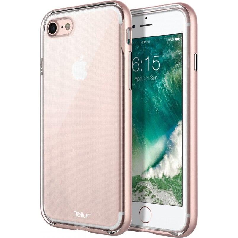 Fotografie Husa de protectie Tellur Premium Protector Fusion pentru iPhone 8 / iPhone 7, Roz