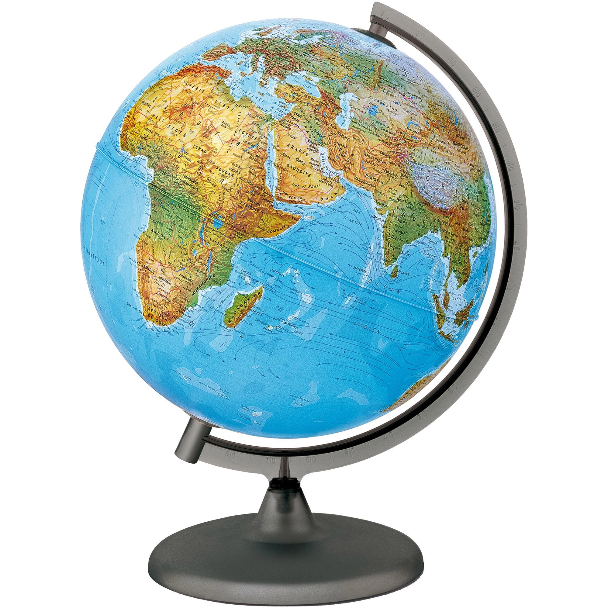 Fotografie Glob pamantesc Geoglobe 25 cm cu harta fizica in limba romana