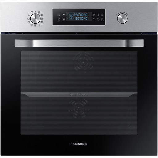 Fotografie Cuptor incorporabil Samsung NV66M3531BS, Electric, 64 l, Display Led, Dual Cook, Clasa A, Inox