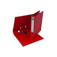 Biblioraft plastifiat PP/PP 5 cm rosu