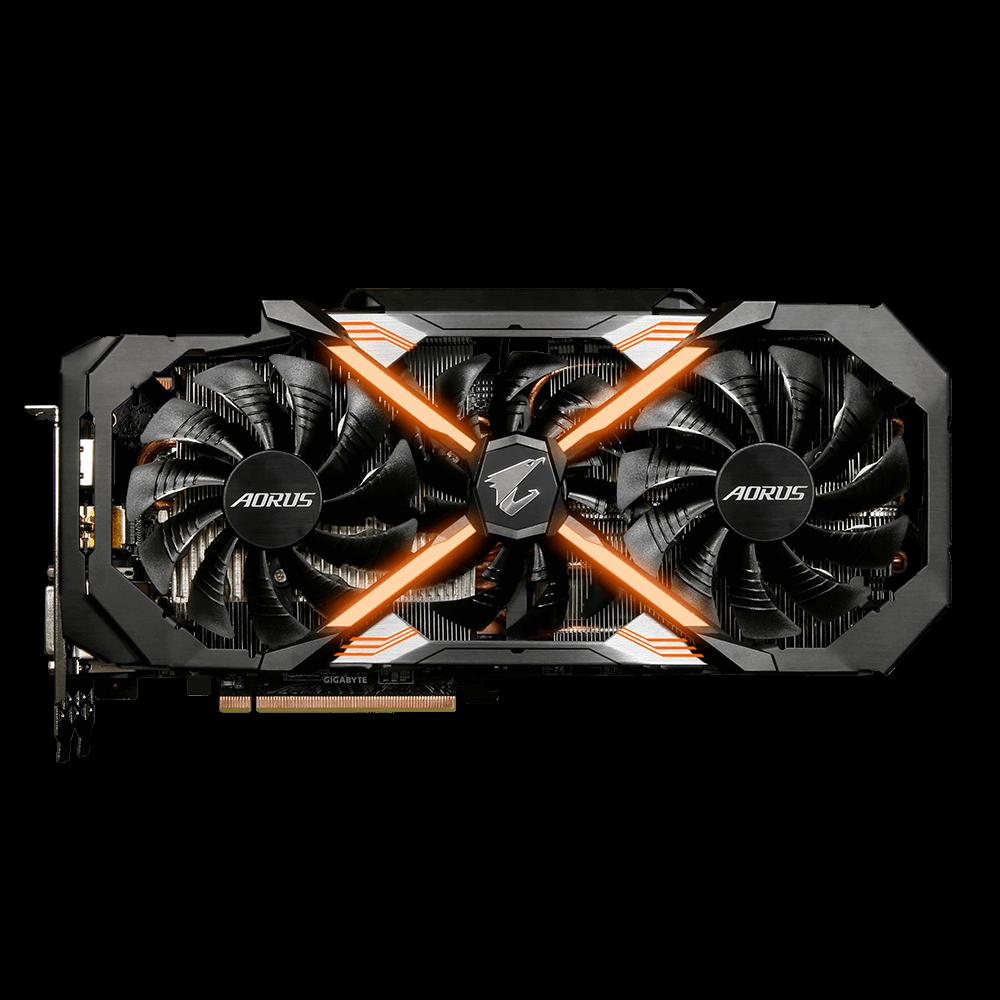 Fotografie Placa video Gigabyte AORUS GeForce® GTX 1080 Ti Xtreme Edition, 11GB GDDR5X, 352-bit
