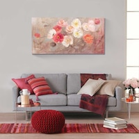 Картинa Канава Artfoyer - диви макове II, 50 x 100 см