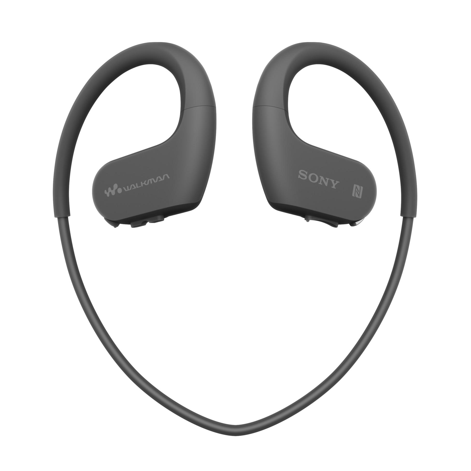 Fotografie MP3 Player sport Sony Walkman NWWS623B, 4GB, rezistent la apa, negru