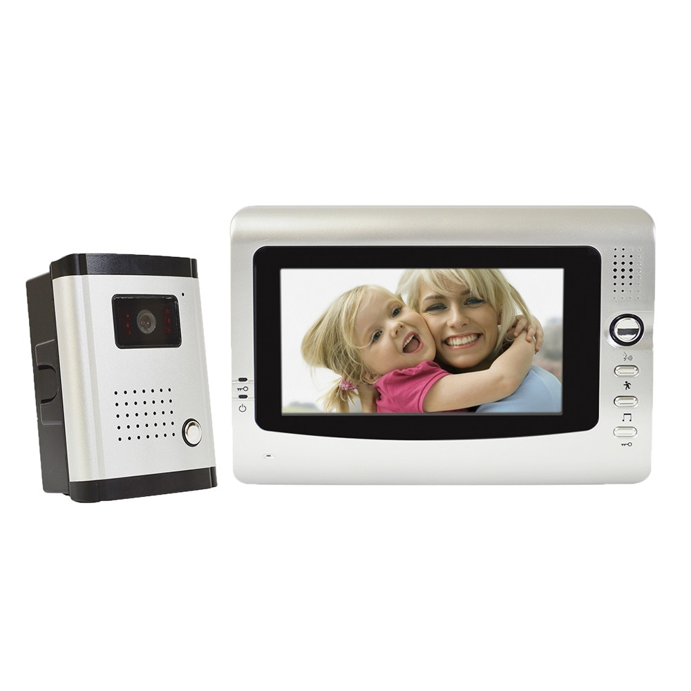 "Fotografie Interfon Video PNI DF-926, 1 Monitor, Ecran LCD 7"""