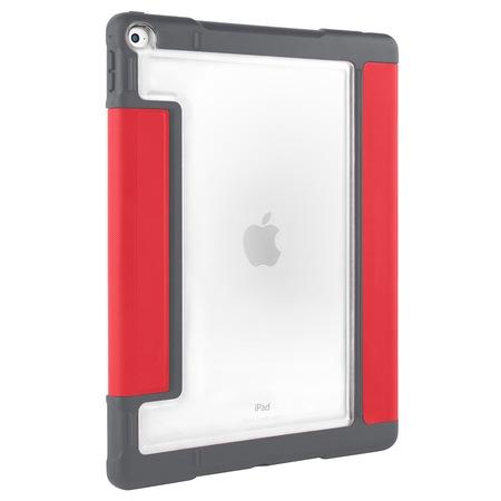 "Предпазен калъф STM Dux Plus Ultra Protective Case за iPad Pro 12.9"", Transparent/Red"