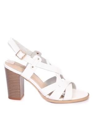 Ежедневни сандали PaoloBotticelli, модел 4A-17303 бял, размер 37