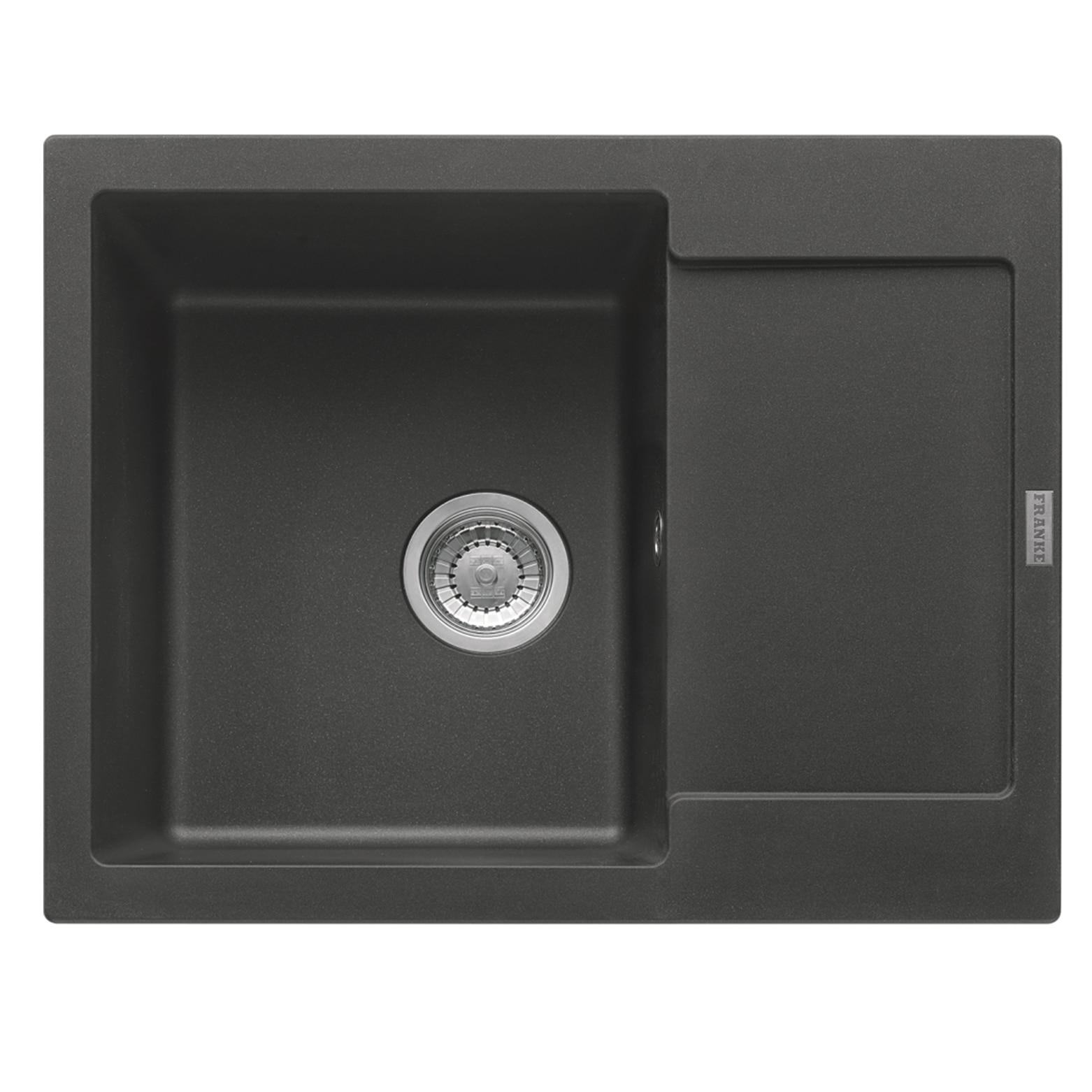 Fotografie Chiuveta fragranite Franke MRG 611-62, 620x500mm, reversibila, grafite