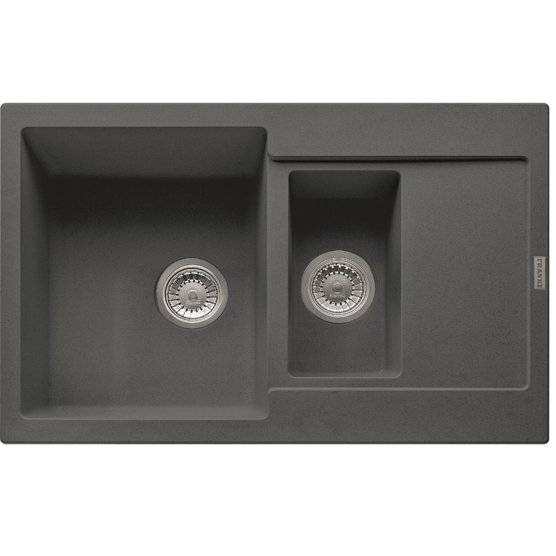 Fotografie Chiuveta fragranite Franke MRG 651, 780x500mm, reversibila, grafite
