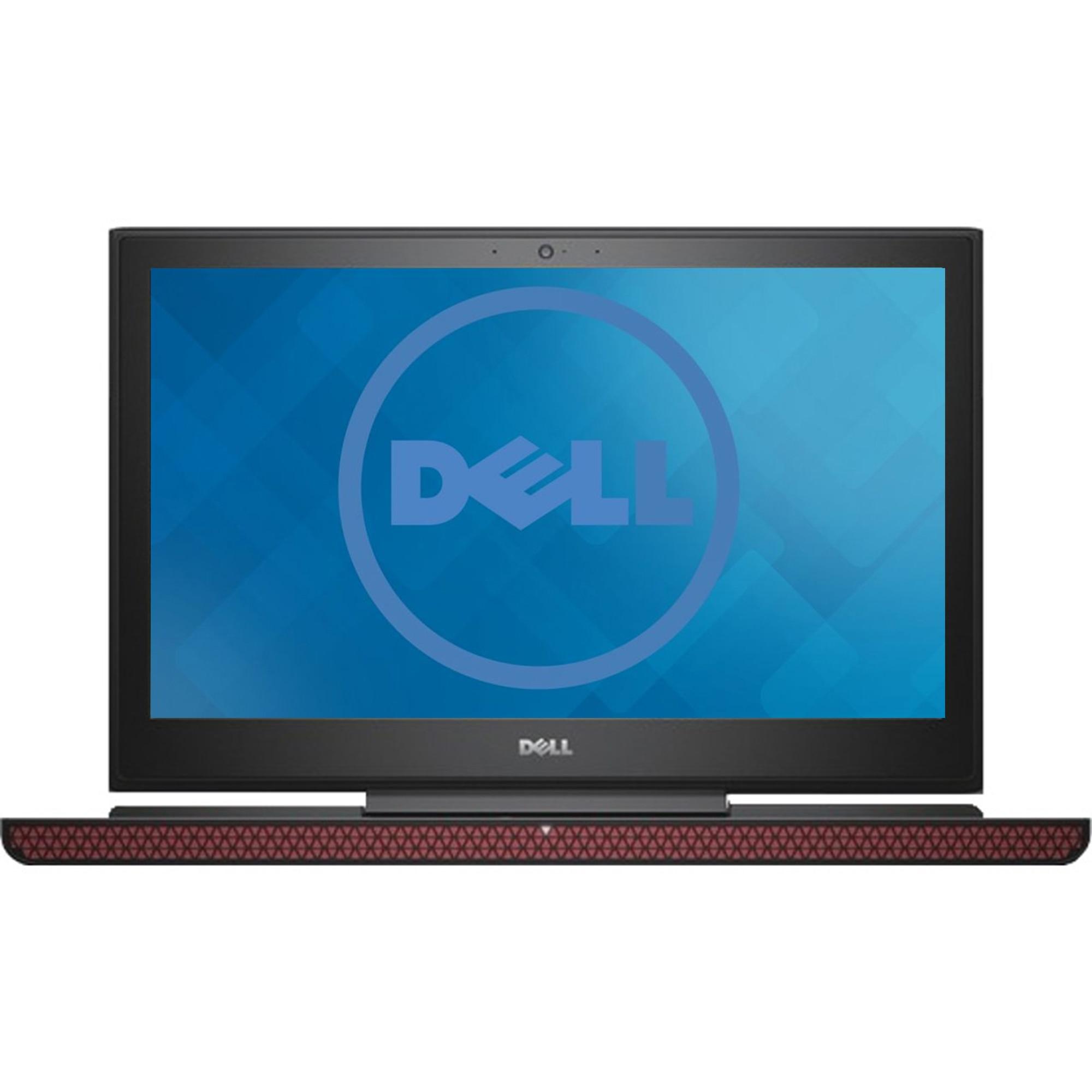 "Fotografie Laptop Gaming Dell Inspiron 7567 cu procesor Intel® Core™ i5-7300HQ 2.50 GHz, Kaby Lake™, 15.6"", Full HD, 8GB, 1TB + 8GB, nVIDIA GeForce 1050 4GB, Ubuntu Linux, Black"