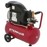 Steinhaus PRO-COM24 Légkompresszor, 24L, 1500W, 2 LE, 8bar, 206l/perc