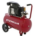 Steinhaus PRO-COM50 Légkompresszor, 50L, 1500W, 2 LE, 8bar, 206l/perc