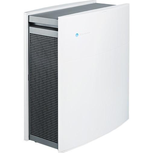 Fotografie Purificator Blueair Classic 405 Smart Wi-Fi, Filtru SmokeStop (filtru particule + carbon), filtrare 99.97% a aerului, recomandat pana la 40 m2, Alb