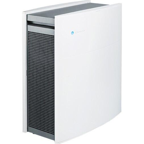 Fotografie Purificator Blueair Classic 480i Smart Wi-Fi, Filtru SmokeStop (filtru particule + carbon), senzor calitate aer, filtrare 99.97% a aerului, recomandat pana la 40 m2, Alb