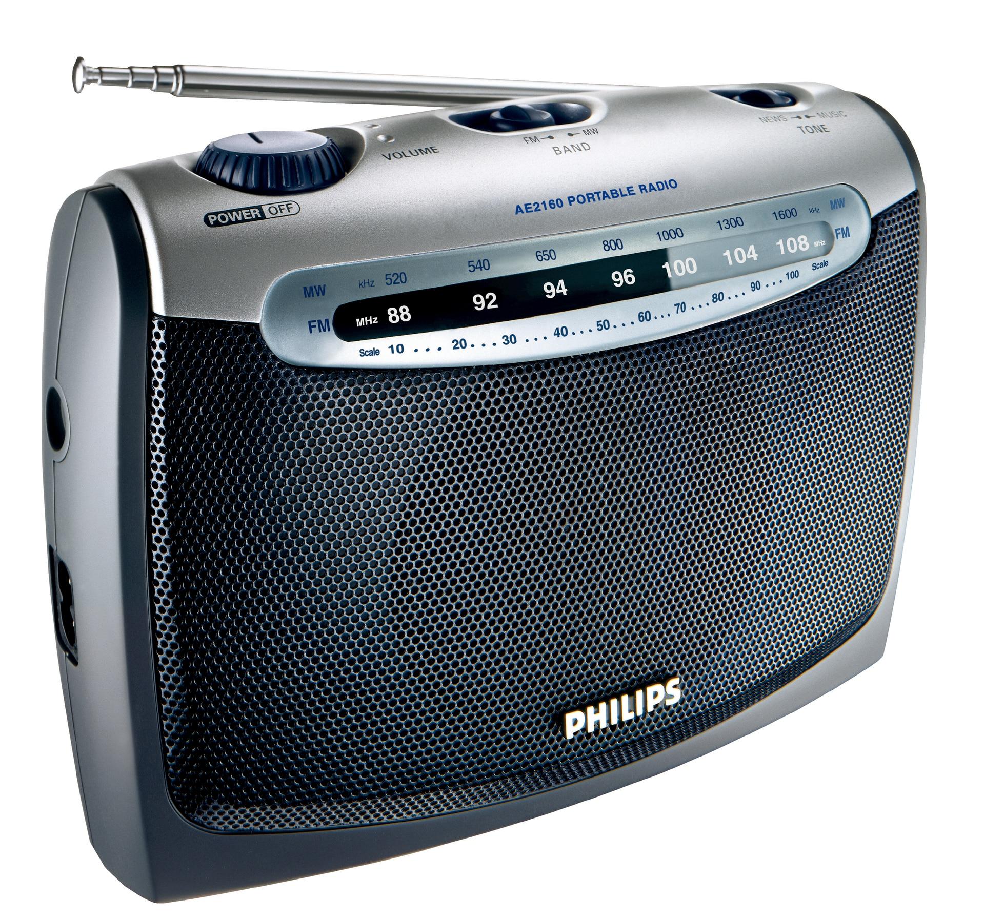 Fotografie Radio portabil Philips AE2160/00C, FM