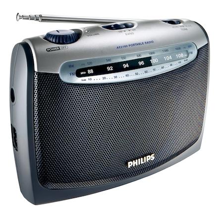 Radio portabil Philips AE2160/00C, FM