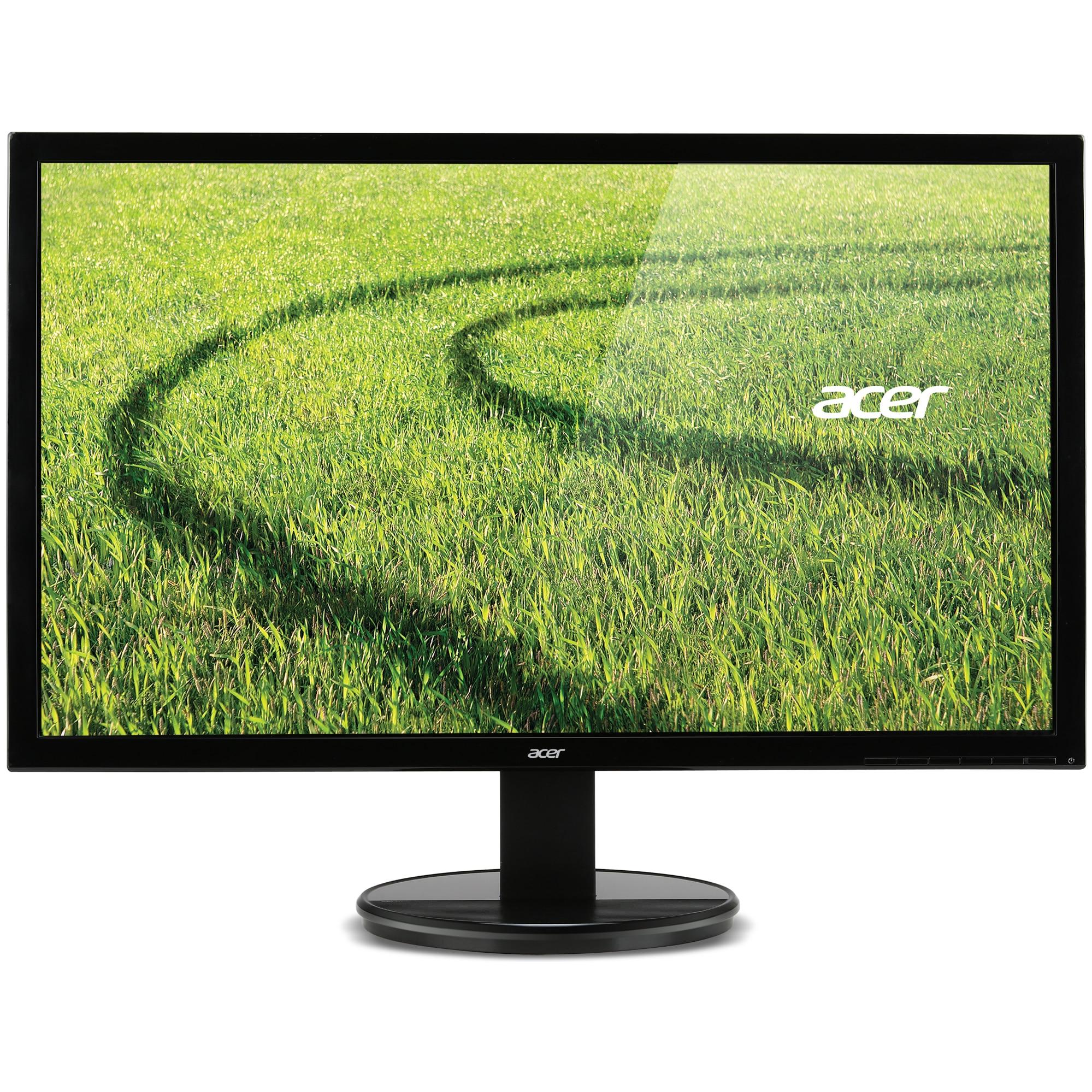 Fotografie Monitor LED Acer 21.5'', Wide, Full HD, DVI, Negru, K222HQLbd