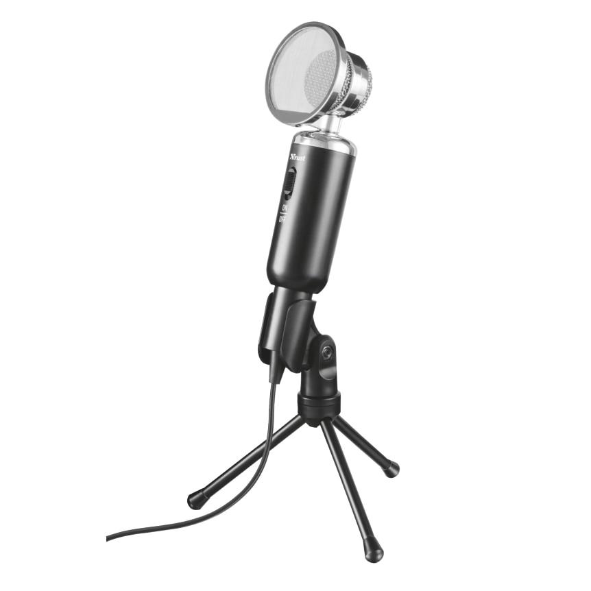Fotografie Microfon Trust Madell Desk, Negru
