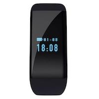 Bluetooth Smart-karkötő 4.0, 7 funkciók, kijelző OLED 0.66 inch, Android, iOS, SoVogue, fekete