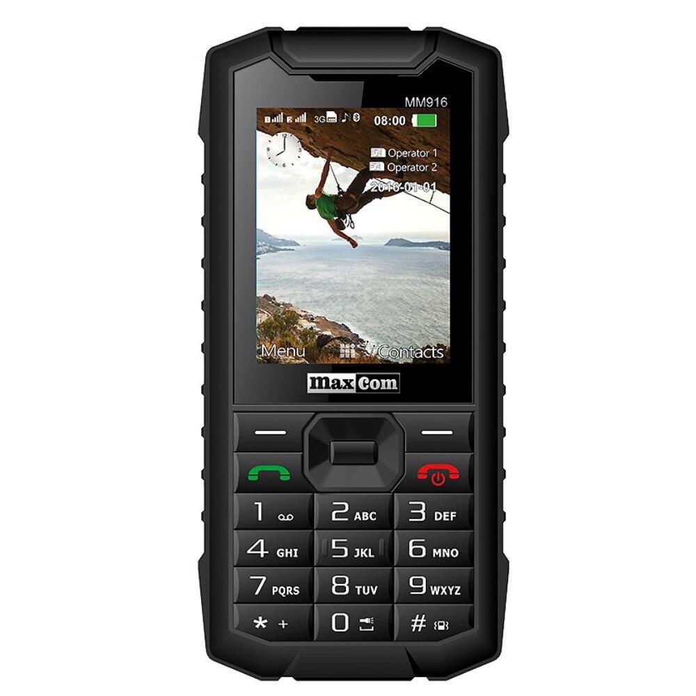 Fotografie Telefon mobil MaxCom Strong MM916, Dual SIM, 3G, Black