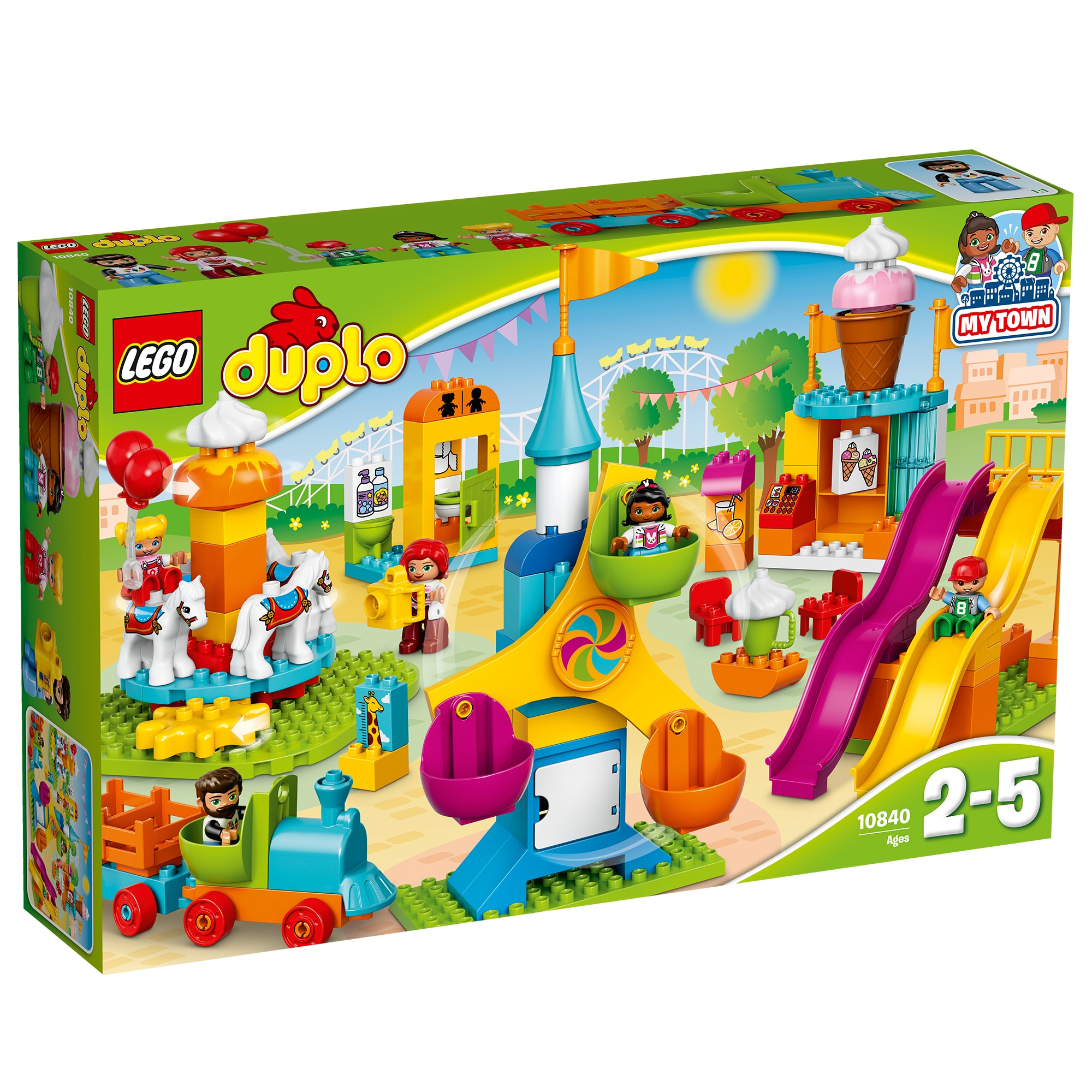 Fotografie LEGO DUPLO - Parc mare de distractii 10840, 106 piese