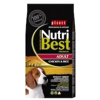 Hrana uscata pentru caini Nutribest Adult, Pui si Orez, 15 kg