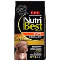 Hrana uscata pentru caini Nutribest Puppy, Pui si Orez, 15 kg