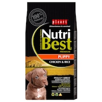 Hrana uscata pentru caini Nutribest Puppy, Pui si Orez, 3 kg