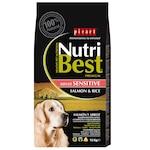 Суха храна за кучета Nutribest Adult, Сьомга с ориз, 15 кг