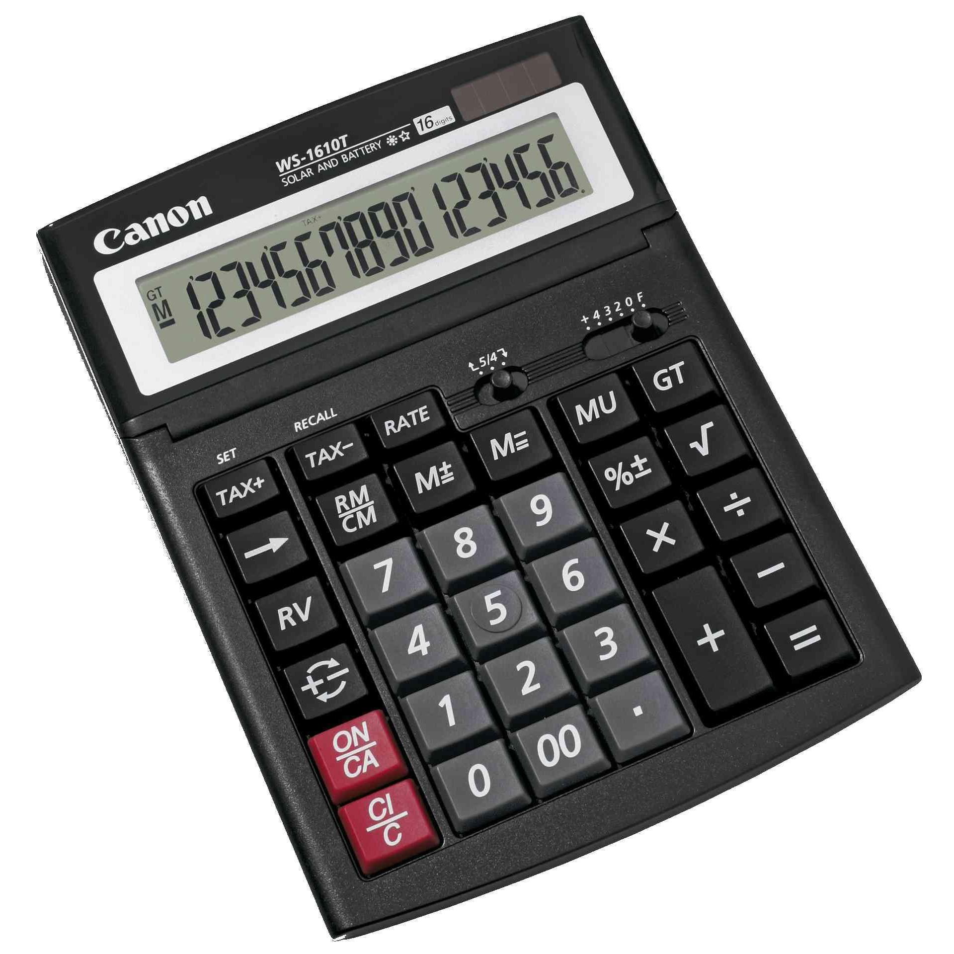Fotografie Calculator de birou Canon WS1610T, 16 Digit