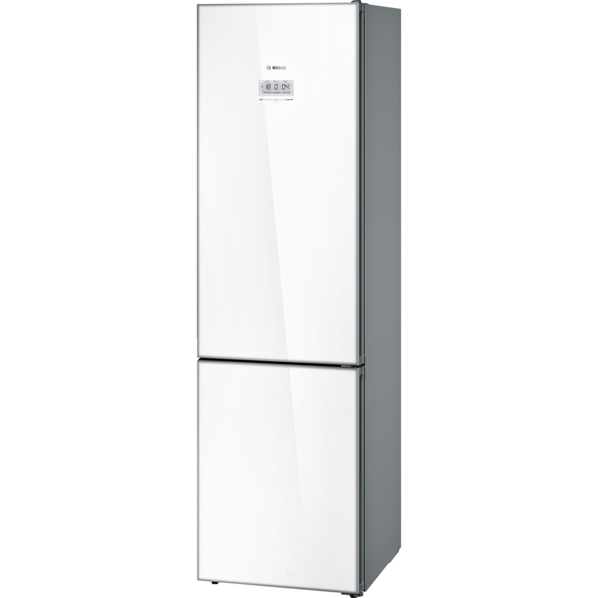 Fotografie Combina frigorifica Bosch KGF39SW45, 343 l, Clasa A+++, No Frost, VitaFresh Pro, Iluminare LED, WiFi Ready, H 203 cm, Alb