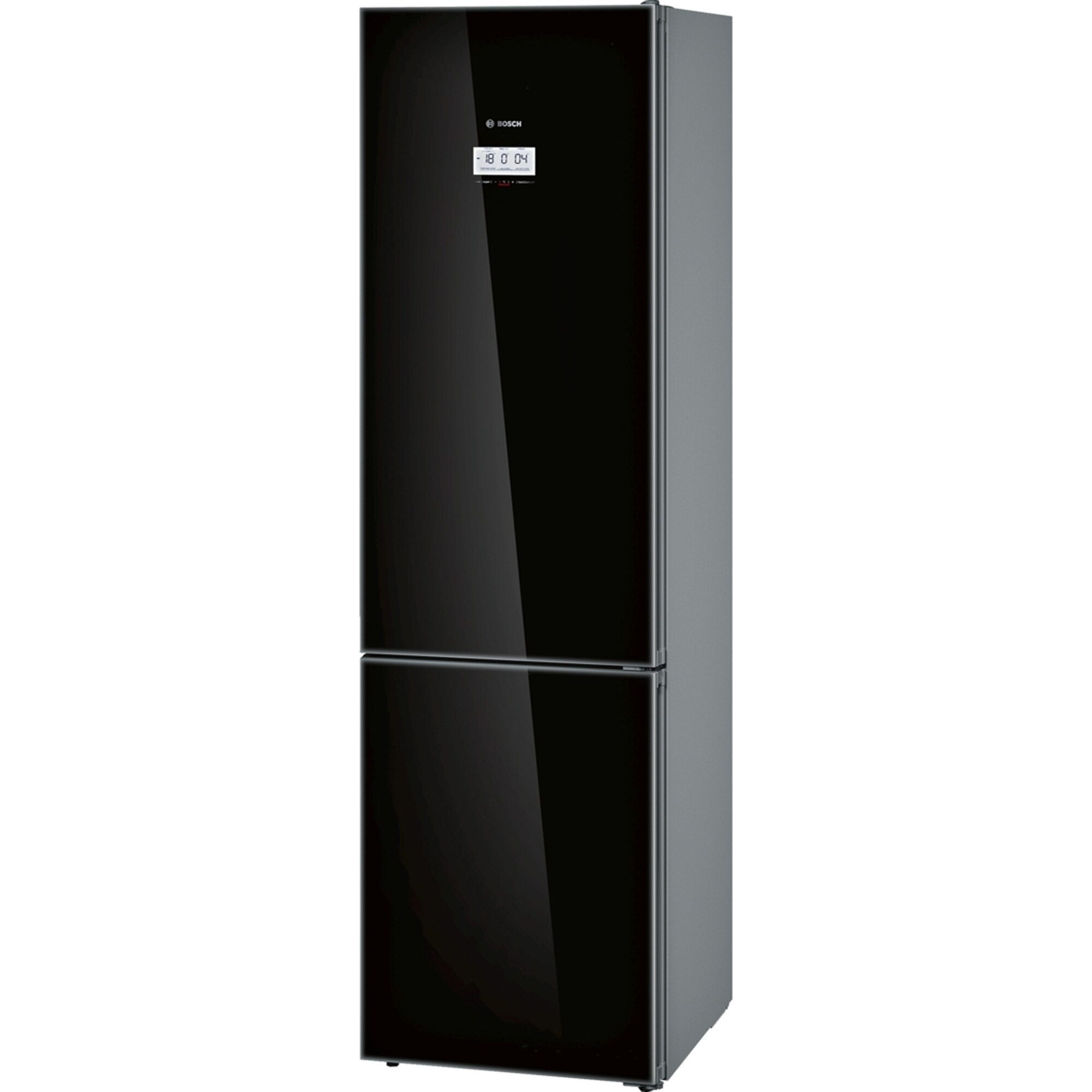 Fotografie Combina frigorifica Bosch KGF39SB45, 343 l, Clasa A+++, No Frost, VitaFresh Pro, Iluminare LED, WiFi Ready, TouchControl, H 203 cm, Negru