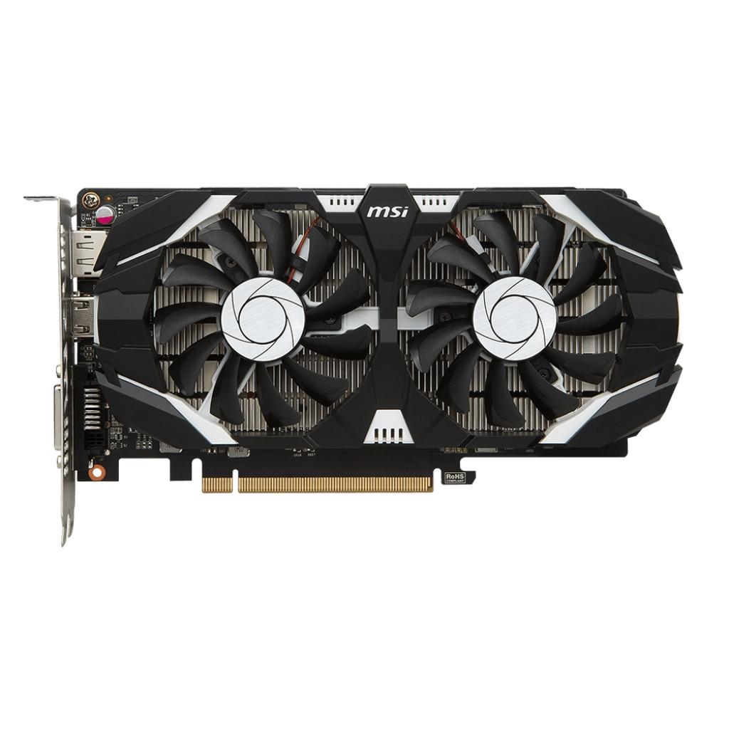 Fotografie Placa video MSI GeForce® GTX 1050 Ti 4GT OC, 4GB GDDR5, 128-bit