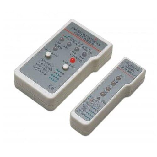 Fotografie Tester cablu multifunctional Intellinet, RJ11/RJ45, Gri